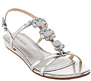Marc Fisher Jeweled Sandals with Backstrap - Peple - A266496