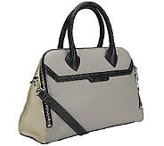 As Is Aimee Kestenberg Mina Pebbled Leather Satchel - A269596