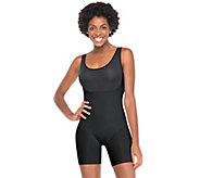 As Is Spanx Trust Your Thinstincts Mid-Thigh Bodysuit - A271196
