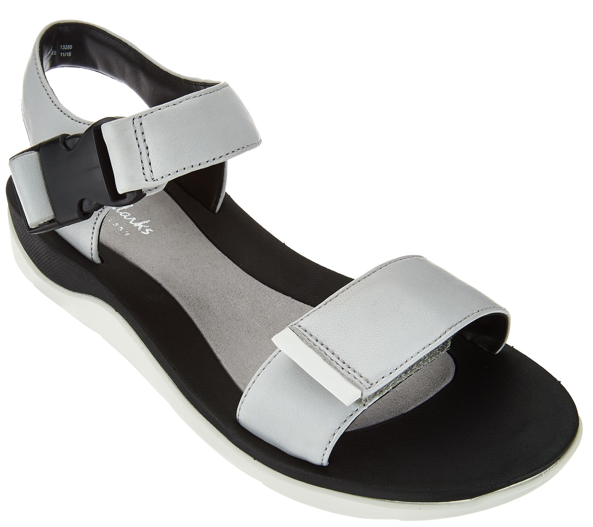 Black sandals clearance