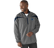 NFL Dallas Quarter Zip Lightweight Pullover Jacket - A280696