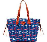 Dooney & Bourke MLB Nylon Indians Shopper - A281696
