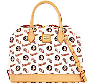 Dooney & Bourke NCAA Florida State University Zip Zip Satchel - A283196