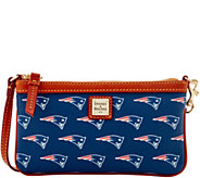 Dooney & Bourke NFL Patriots Large Slim Wristlet - A285796