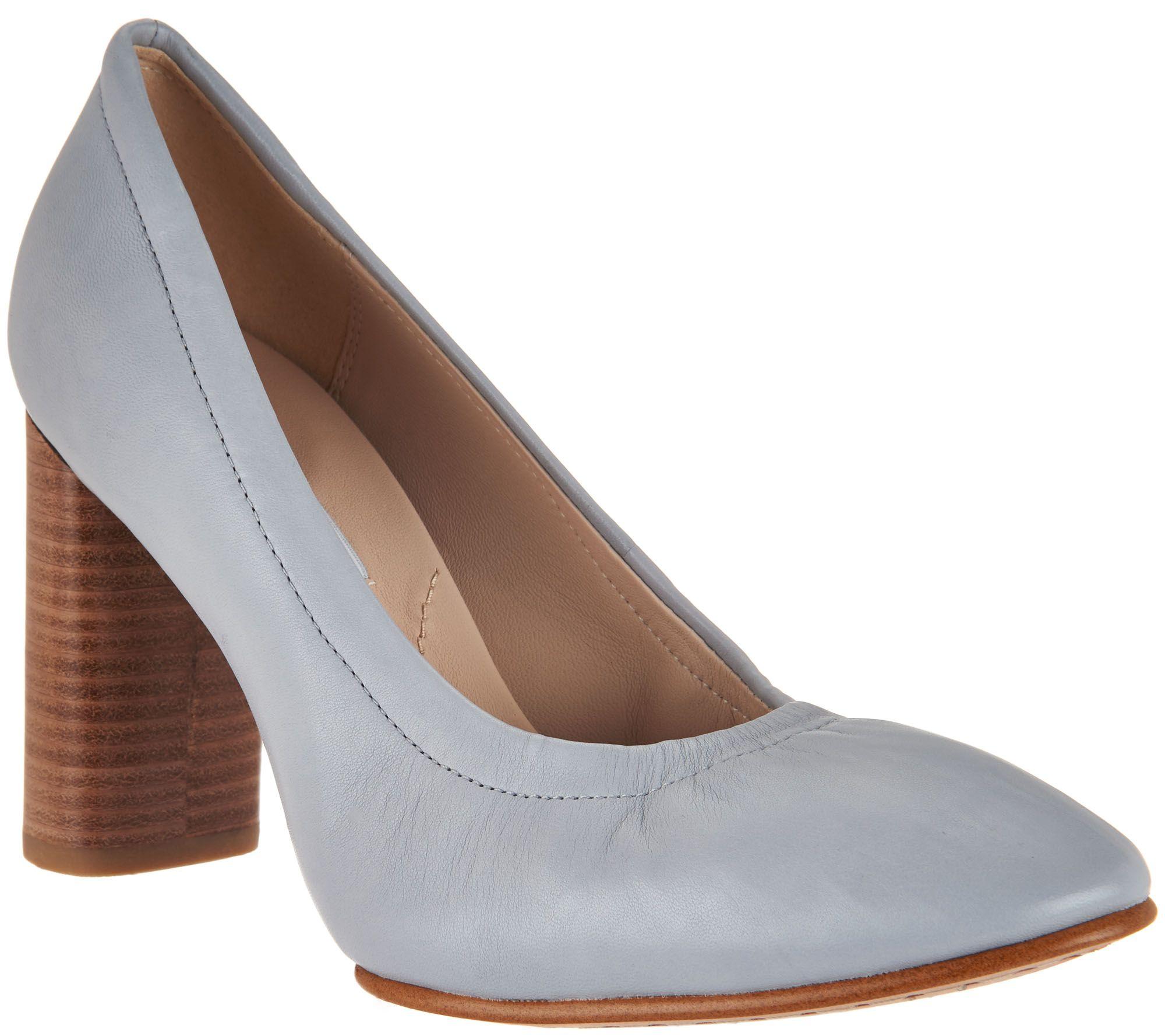 The Roselyn Stacked Heel Sock Boot is a vintage-inspired, editorial-worthy, runway-ready look. • High cut sock silhouette • Side zip closure.