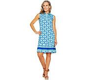 C. Wonder Printed Knit Dress - A291096