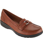 Clarks Leather Loafers- Cheyn Marie - A295296