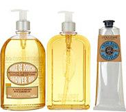 LOccitane Super-size Shower Gel & Hand Cream Trio - A302296