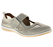 Spring Step Outrun Leather and Mesh Mary Janes - A332296