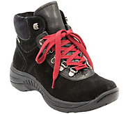 BareTraps Water Resistant Suede Lace-up Ankle Boots - Rosie - A356496