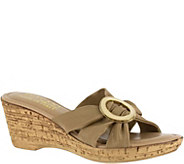 Tuscany by Easy Street Stretch Wedge Sandals -Conca - A356796