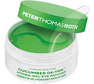 Peter Thomas Roth Cucumber De-Tox HydraGel EyePatches - A356996