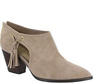 Bella Vita Suede Leather Shooties - Eli - A360396