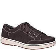 Dansko Mens Lace-Up Leather Sneakers - Vaughn - A362096