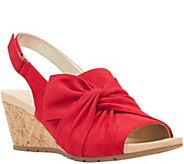Bandolino Casual Wedge Sandals - Gayla - A411396