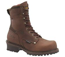 Carolina Boots Men's 9 Waterproof InsulatedLogger Boots