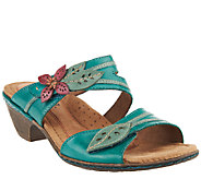 Cobb Hill by New Balance Leather Slip-on Sandals - Vivian - A224997