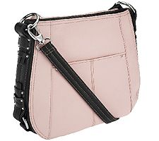 Tignanello Pebble Leather Convertible Crossbody