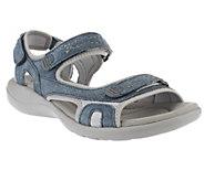 Clarks Leather Adjustable Sport Sandals - Morse Tour - A233397
