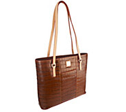 Dooney & Bourke Croco Embossed Leather Shopper - A255097