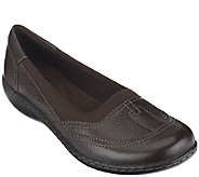 Clarks Leather Slip-on Shoes - Ashland Hustle - A257897