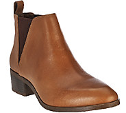Sole Society Leather Chelsea Boots - Mars - A270497
