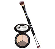 IT Cosmetics Pretty in Summer Eye Shadow Trio w/ No Tug Brush - A271097