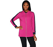 Linea Leisure by Louis DellOlio Zip Front Hoodie - A273297