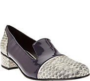 LOGO by Lori Goldstein Mixed Media Slip-On Loafers - A280997
