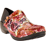 Rocky 4EurSole Leather Printed Convertible Clogs - A285597