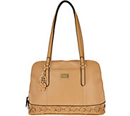 Tignanello Smooth Leather Garden Party Dome Satchel - A289897