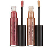 Laura Geller Color Luster Lip Gloss Hi-Def Top Coat Duo - A301897