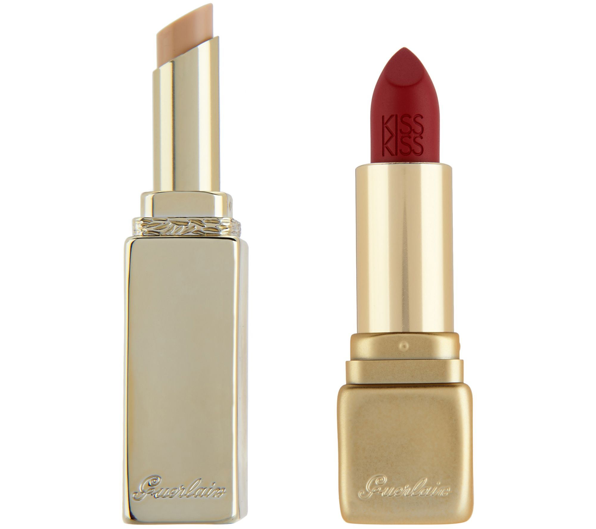 Guerlain KissKiss Lipstick with LipLift Lip Primer - A304697