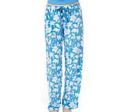 Jockey Separates Microfleece Floral Print Lounge Pants - A331197