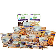 Nutrisystem 15-piece Sweet & Salty Snack Pack w ith Shakes - A337097