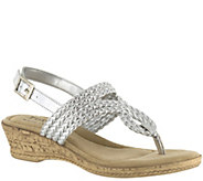 Tuscany by Easy Street Wedge Sandals - Martina - A338997