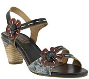 Spring Step LArtiste Leather Sandals - Guiditta - A339497