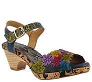LArtiste by Spring Step Leather Sandals - Zalma - A363697