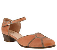Spring Step Leather Mary Jane Shoes - Lenna - A363997