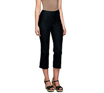 Isaac Mizrahi Live! Regular 365 Stretch Denim Crop Pants - A254298