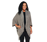 As Is Layers by Lizden Marvelush Shrug with Cable Detail - A265198
