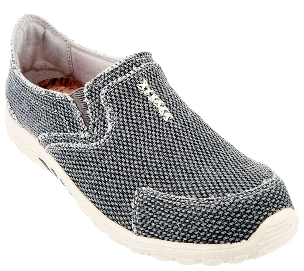 Skechers Relaxed Fit Canvas Slip-on Sneakers