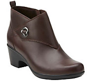 Clarks Leather Booties - Malia Surf - A269098