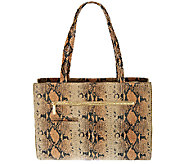 As Is Hobo Venice Leather Morena Triple Compartment Tote - A274598