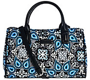 Vera Bradley Signature Print Triple Compartment Satchel - A275298