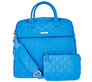 Vera Bradley Microfiber Overnighter Bag & Pouch - A280298