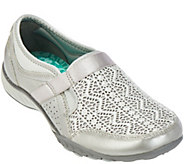 Skechers Breathe-Easy Crochet Leather slip-ons - Clean Sweep - A280498