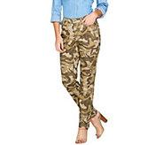 G.I.L.I. Camo Skinny Jeans - A286998