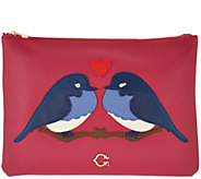 C. Wonder Love Birds Zip Top Large Pouch - A287298