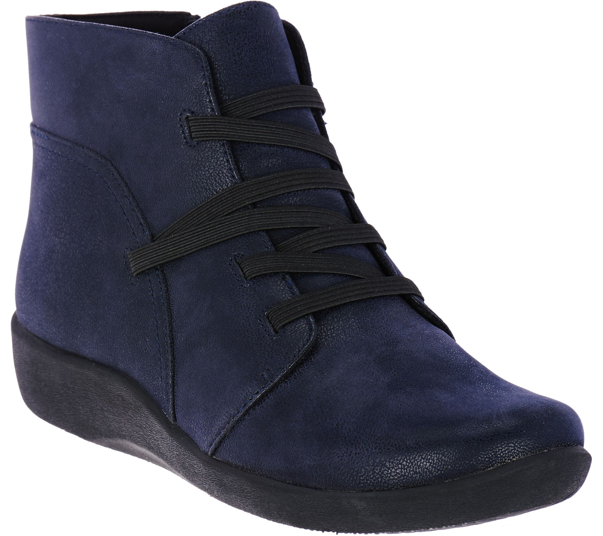 Quot As Is Quot Clarks Cloud Steppers Gore Lace Up Boots Sillian